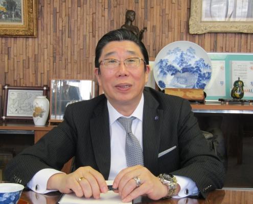 中部工業用ゴム製品卸商業組合 / 加藤 已千彦理事長