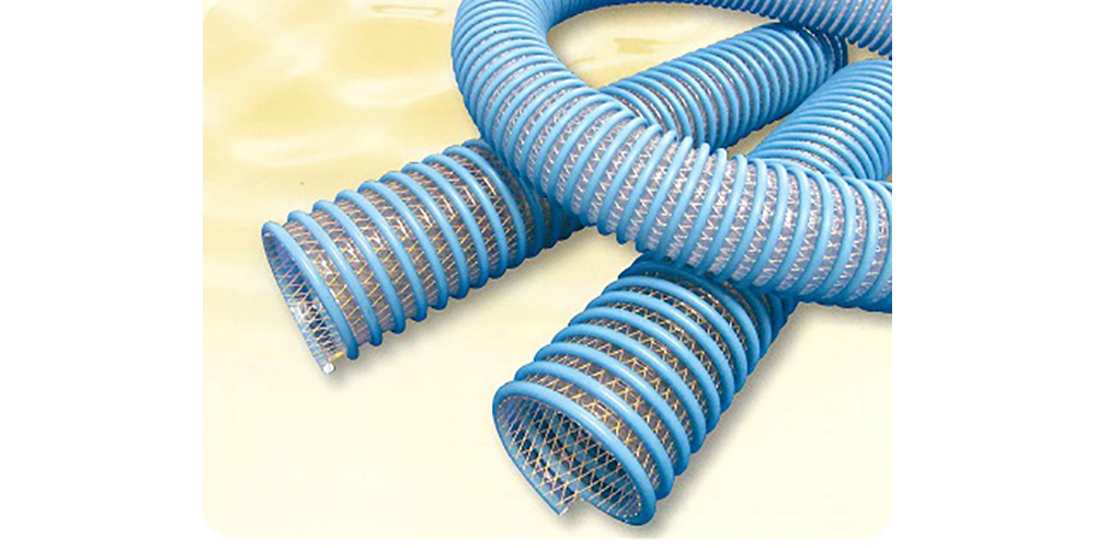 ブルーに色付けされたタイパワーホース耐油WS型