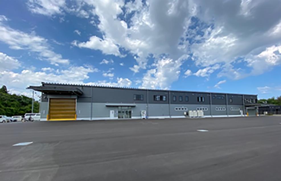 竣工した福島工場