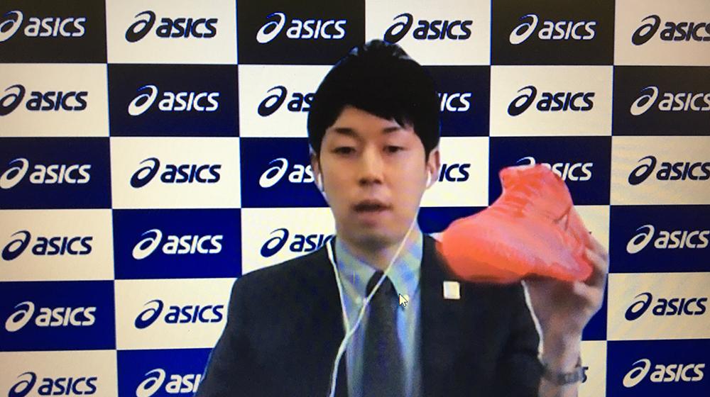 アシックス・脇田氏