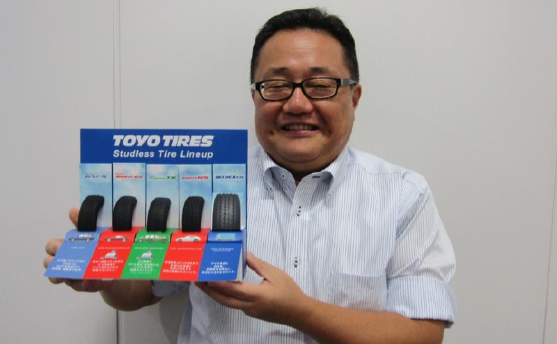 トーヨータイヤジャパン 企画本部 商品企画部長 サマータイヤチームリーダー 森田学氏
