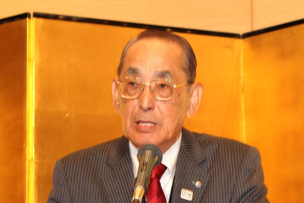 全日本プラスチック製品工業連合会の加藤会長