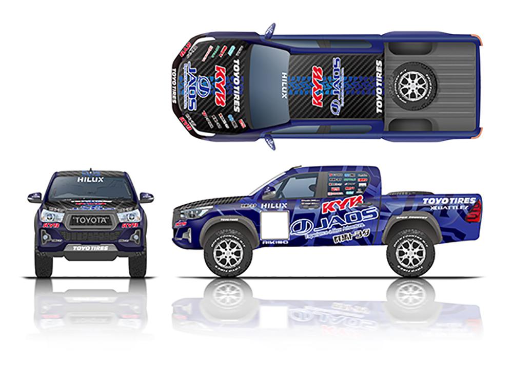 共同参戦するレース車両のデザイン、イメージ
