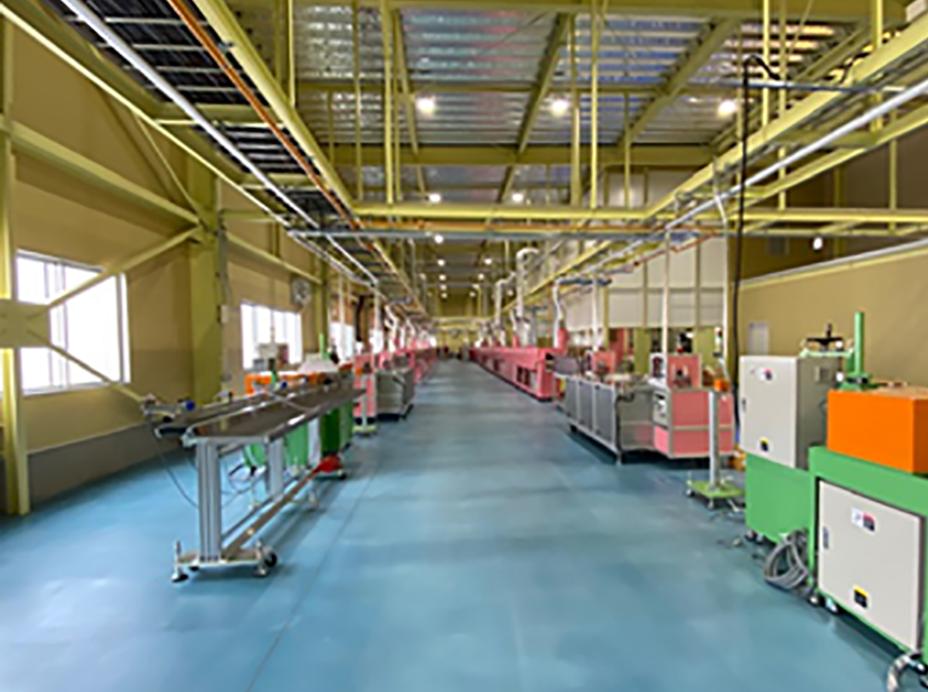 工場内の設備とレイアウト