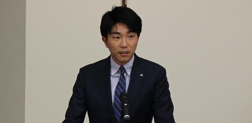 専務の善太郎氏