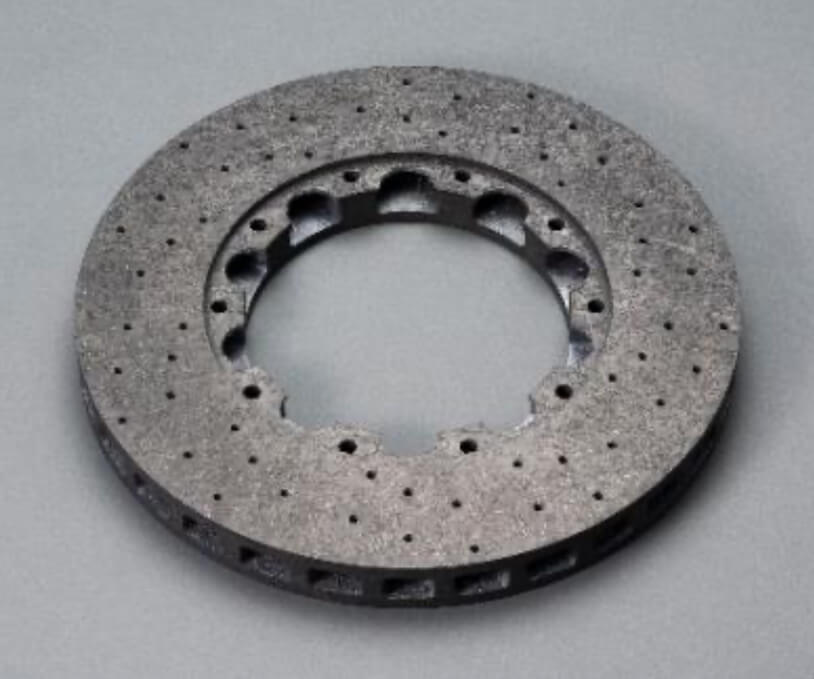 CMC材料を使用した部材例